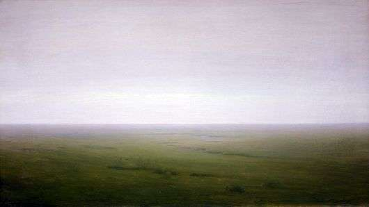 Описание картины Архипа Куинджи «Степь»