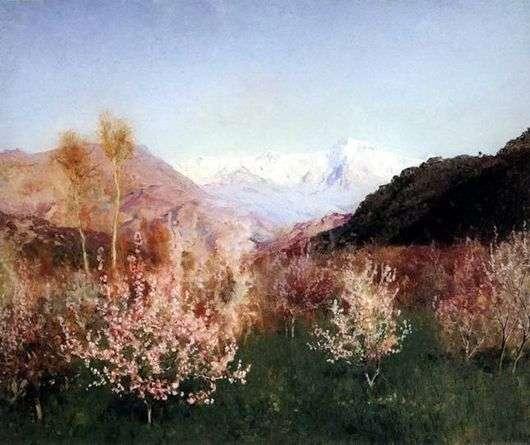 Описание картины Исаака Левитана «Весна в Италии»