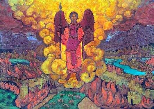 Описание картины Николая Рериха «Ангел последний»