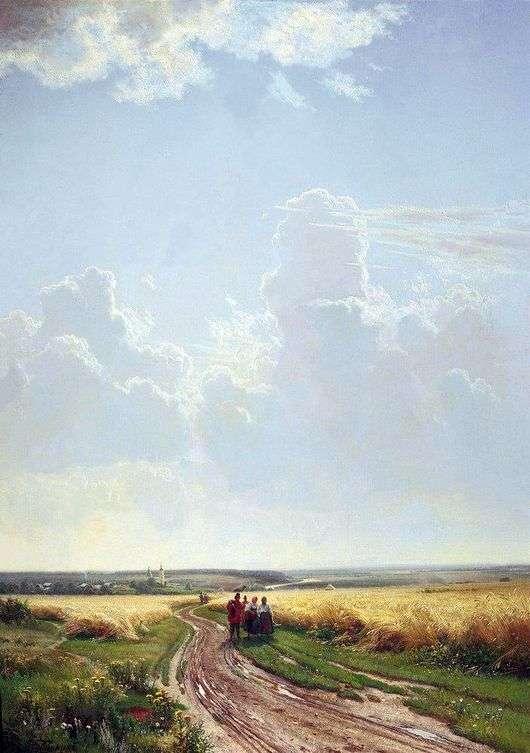 Описание картины Ивана Шишкина «Полдень. В окрестностях Москвы»