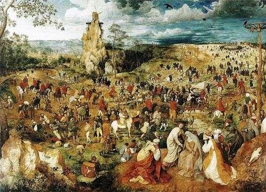 Описание картины Питера Брейгеля «Путь на Голгофу»