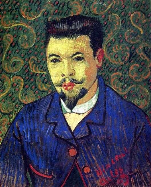 Описание картины Винсента Ван Гога «Портрет доктора Рея»