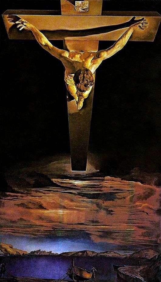 Описание картины Сальвадора Дали «Распятие Христа от святого Иоанна»