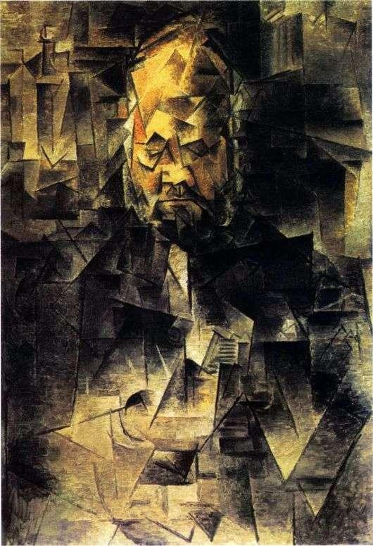 Описание картины Пабло Пикассо «Портрет Амбруаза Воллара»