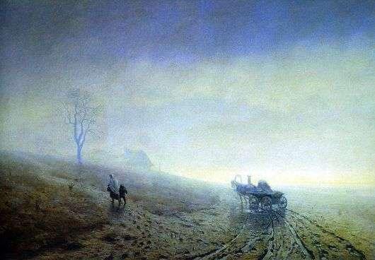 Описание картины Архипа Куинджи «Осенняя распутица»