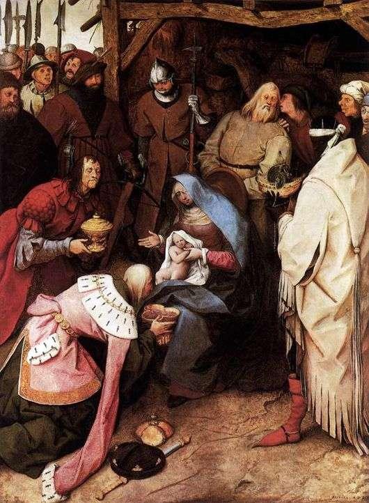 Описание картины Питера Брейгеля «Поклонение Волхвов»