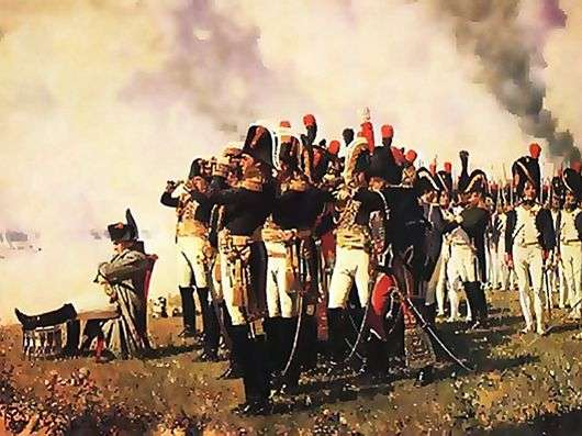 Описание картины Василия Верещагина «Наполеон на Бородинских высотах»