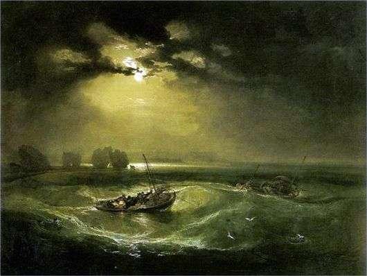 Описание картины Уильяма Тернера «Рыбаки в море»