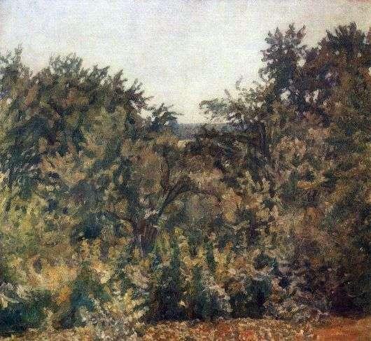 Описание картины Николая Крымова «Фруктовые сады»
