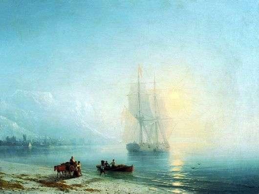 Описание картины Ивана Айвазовского «Спокойное море»