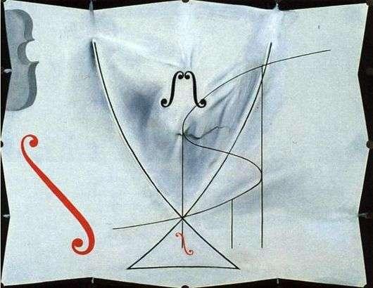 Описание картины Сальвадора Дали «Ласточкин хвост»