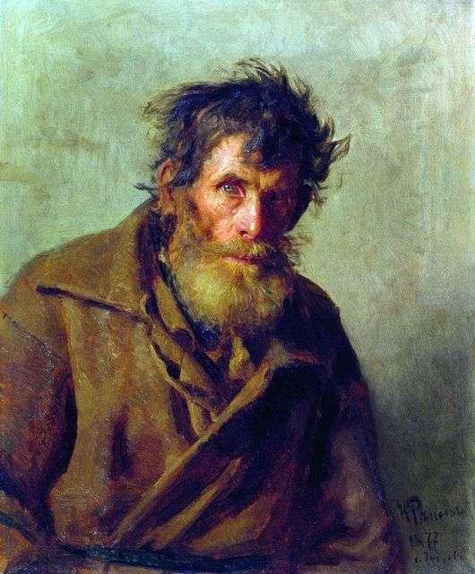 Описание картины Ильи Репина «Мужичок из робких»