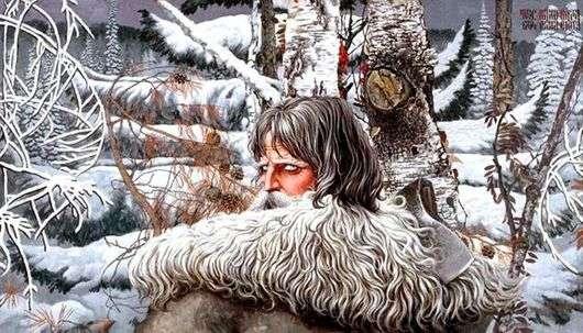 Описание картины Константина Васильева «Северный орел»
