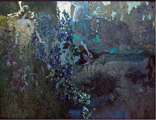 Описание картины Михаила Александровича Врубеля «Утро»