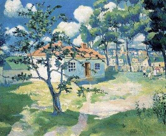 Описание картины Казимира Севериновича Малевича «Весна»