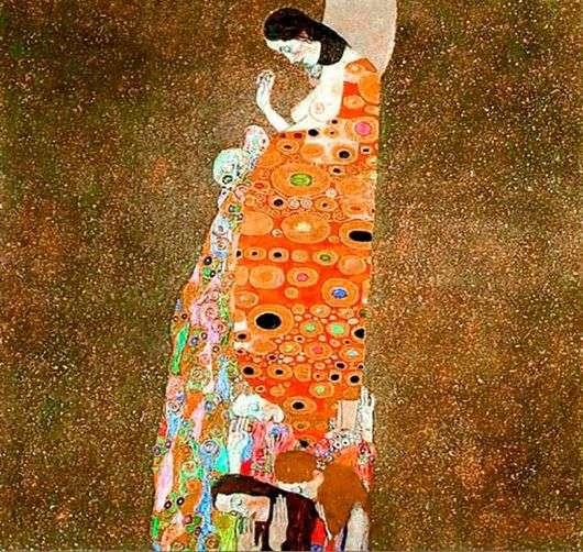 Описание картины Густава Климта «Надежда II»
