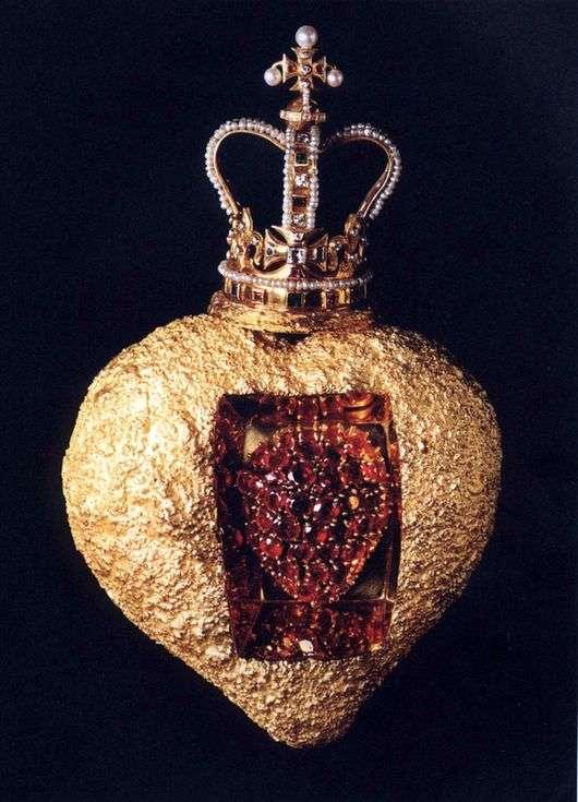 Описание картины Сальвадора Дали «Королевское сердце»