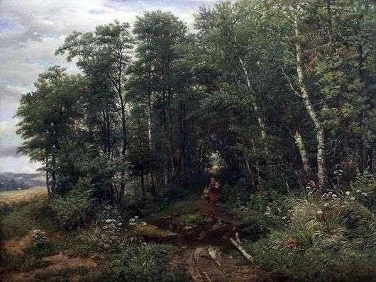 Описание картины Ивана Ивановича Шишкин «Грибники»