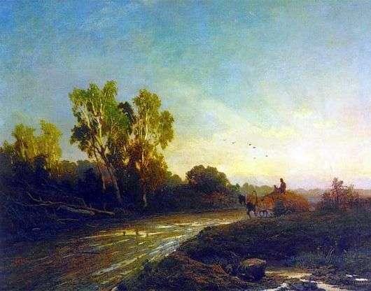 Описание картины Федора Васильева «После дождя»
