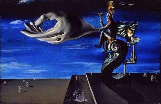 Описание картины Сальвадора Дали «Угрызения совести» (Вариант 2)