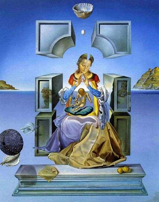 Описание картины Сальвадора Дали «Мадонна Порт Льигата»