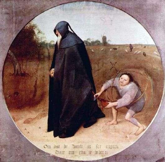 Описание картины Питера Брейгеля «Мизантроп»