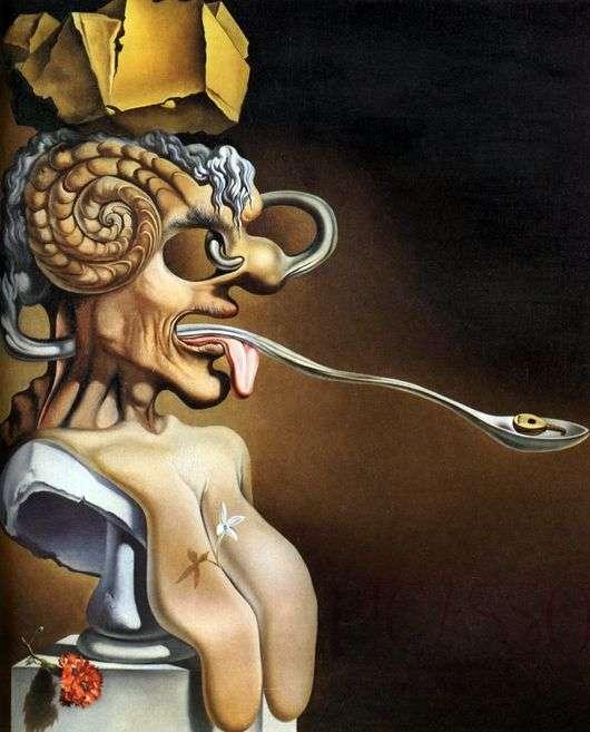 Описание картины Сальвадора Дали «Портрет Пикассо»