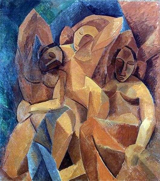 Описание картины Пабло Пикассо «Три женщины»
