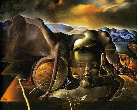 Описание картины Сальвадора Дали «Бесконечная загадка»