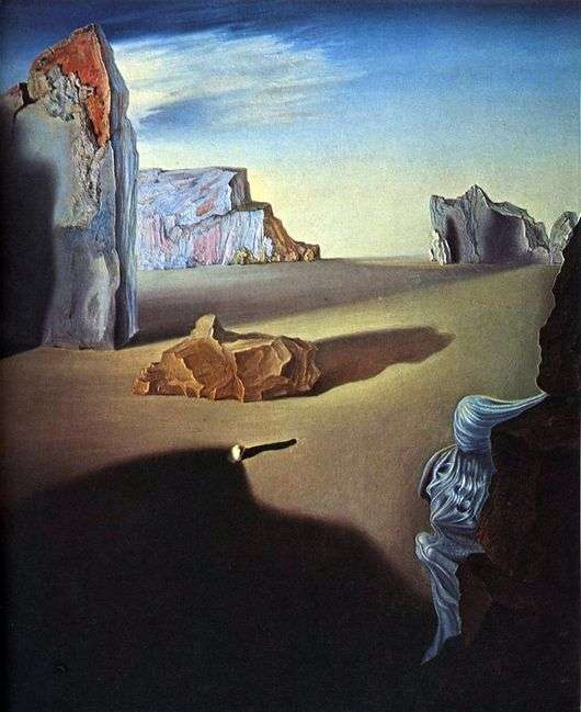 Описание картины Сальвадора Дали «Тени тающей ночи»