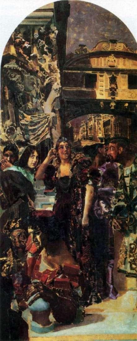 Описание картины Михаила Врубеля «Венеция»