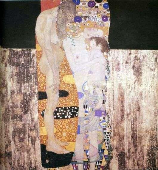 Описание картины Густава Климта «Девушки»