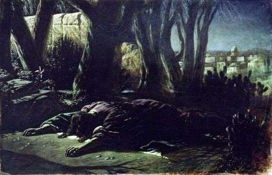 Описание картины Василия Перова «Христос в Гефсиманском саду»