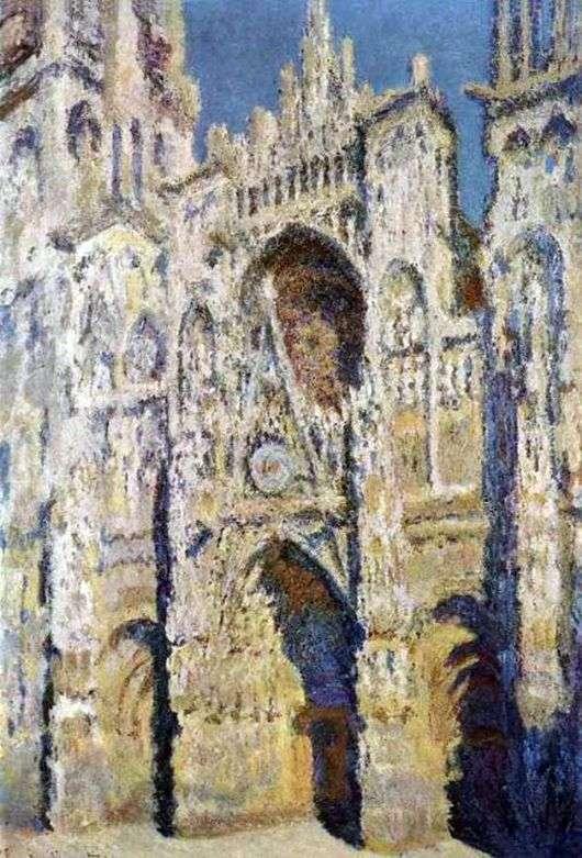 Описание картины Клода Моне «Собор в Руане»