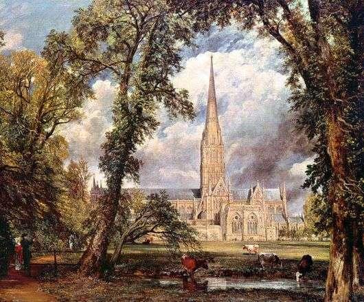 Описание картины Джона Констебла «Собор в Солсбери»