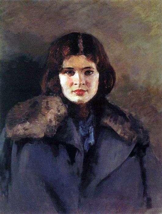 Описание картины Игоря Грабаря «Светлана»
