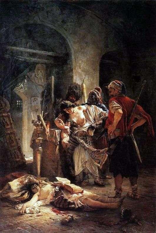 Описание картины Владимира Маковского «Болгарские мученицы»