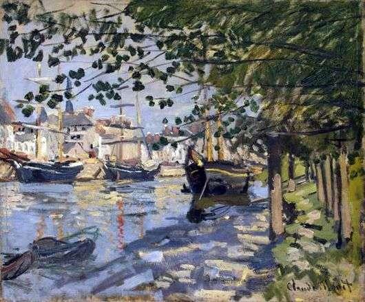 Описание картины Клода Моне «Сена в Руане»