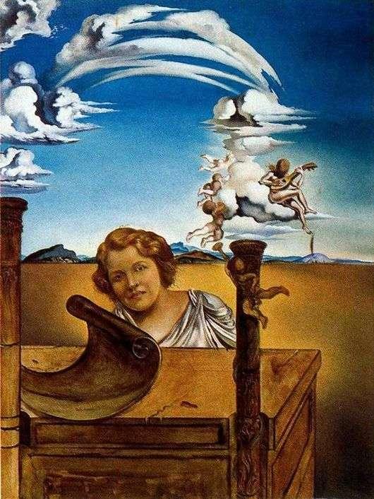 Описание картины Сальвадора Дали «Меланхолия»