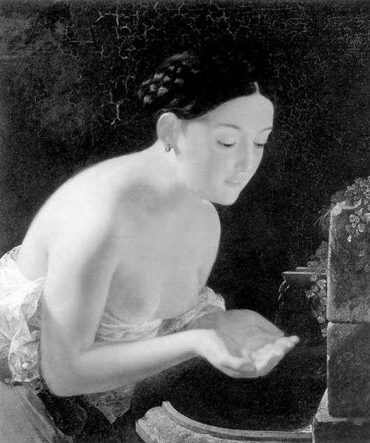 Описание картины Карла Брюллова «Итальянское утро»