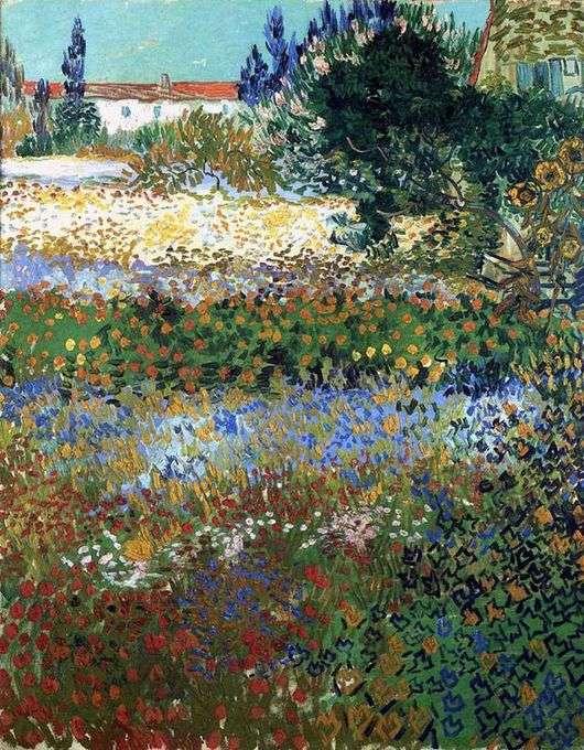 Описание картины Винсента Ван Гога «Цветущий сад»