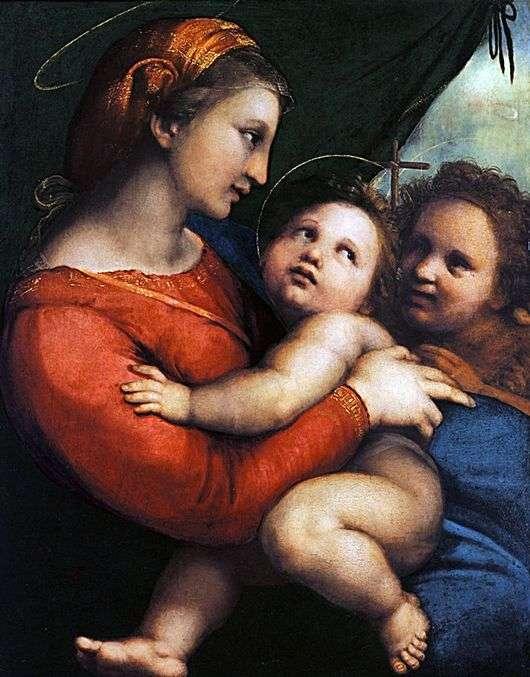 Описание картины Рафаэля Санти «Мадонна в шатре»