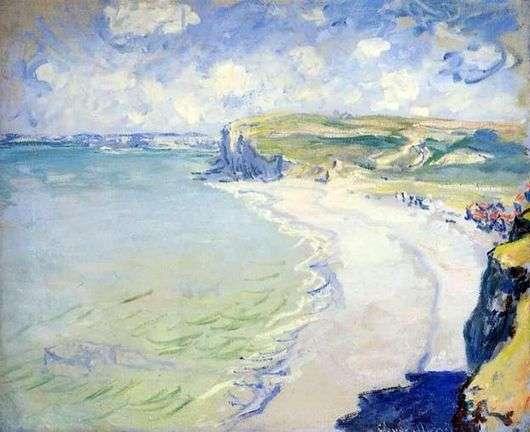 Описание картины Клода Моне «Пляж в Пурвиле»