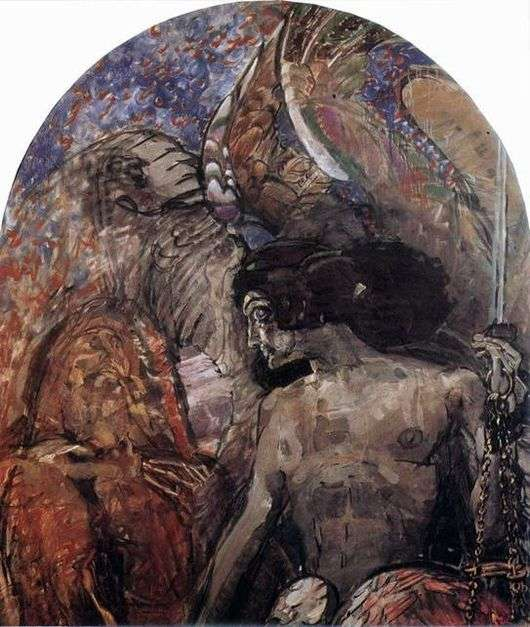 Описание картины Михаила Врубеля «Пророк»