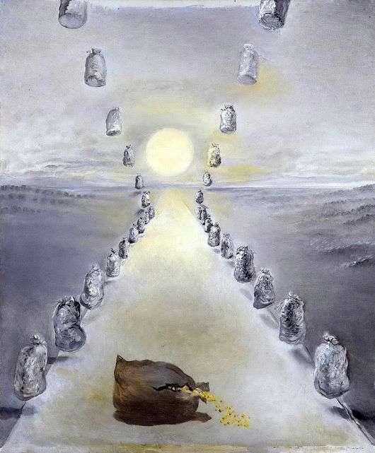 Описание картины Сальвадора Дали «Путь Загадки»