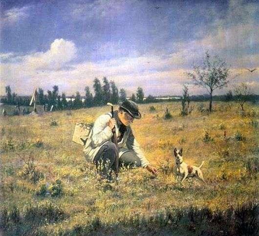 Описание картины Василия Перова «Ботаник»