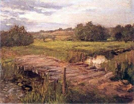 Описание картины Константина Коровина «Ручей»