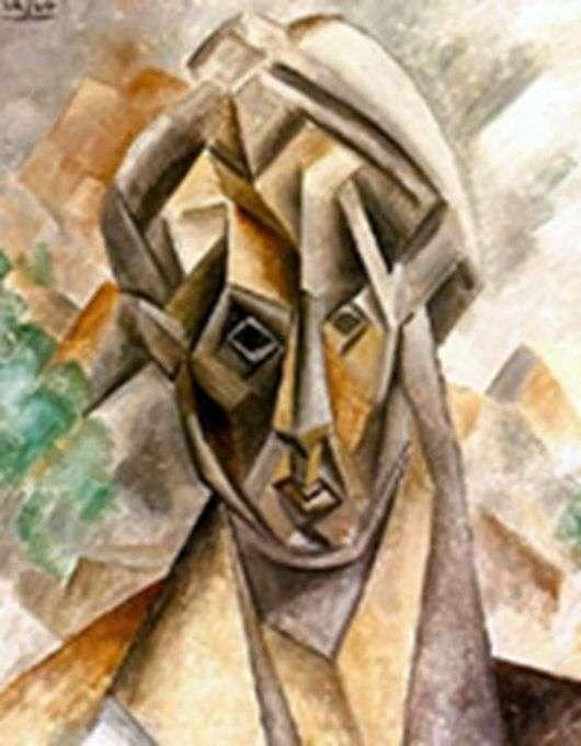 Описание картины Пабло Пикассо «Голова женщины»