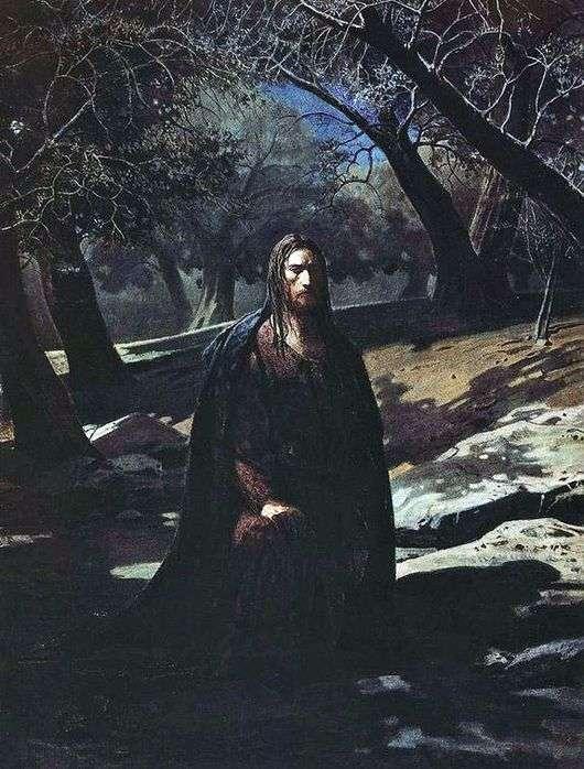 Описание картины Николая Ге «Христос в Гефсиманском саду»