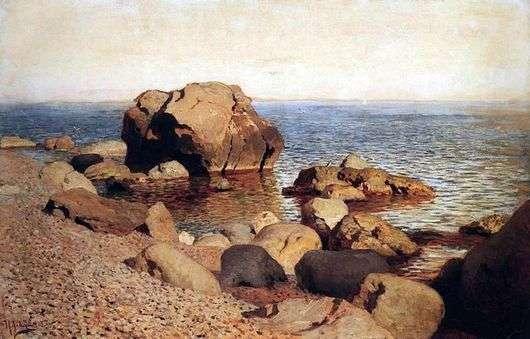 Описание картины Исаака Левитана «У берега моря Крым»
